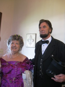 Abe and Mary Lincoln Impersonator