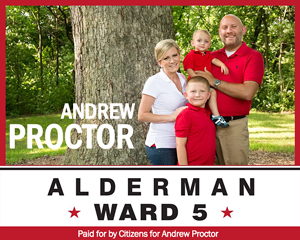 Alderman Andrew Proctor, Ward 5 in Springfield, IL