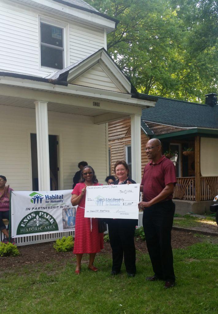 Habitat Check Giving