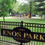 Enos Park Sign