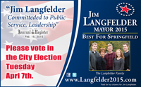 Jim Langfelder for Springfield Mayor 2015