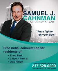 Sam Cahnman, Attorney
