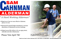 Sam Cahnman for Alderman of Ward 5