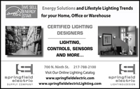 Springfield Electric ad