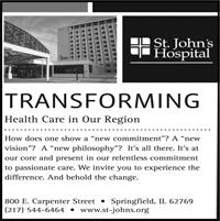 St. John's Hospital ad