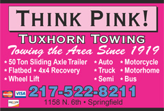 Tuxhorn Towing ad