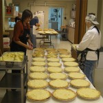 Thanks to our pie bakers!