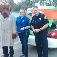 Trunk or Treat Macgruff the Crime Dog